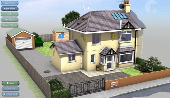 virtual house planning permission