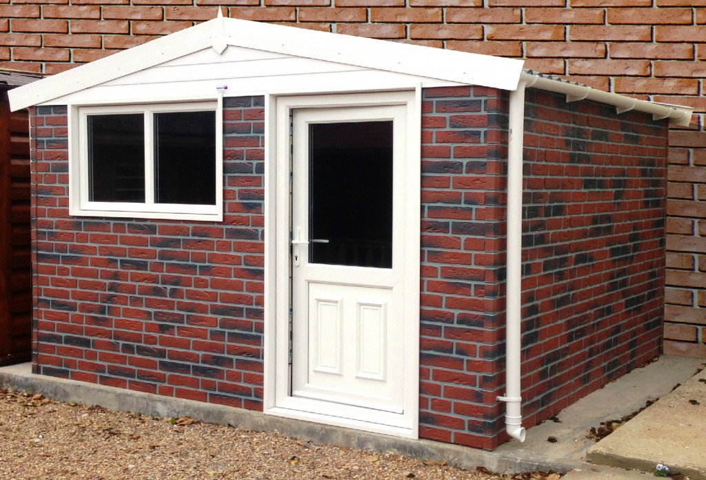 Garden buildings galleries white rose buildings for Garden sheds and garages