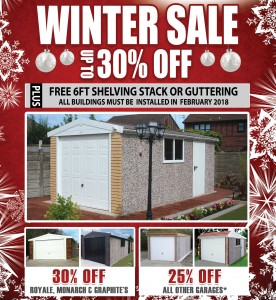 Concrete Garages Winter 2017 Offer