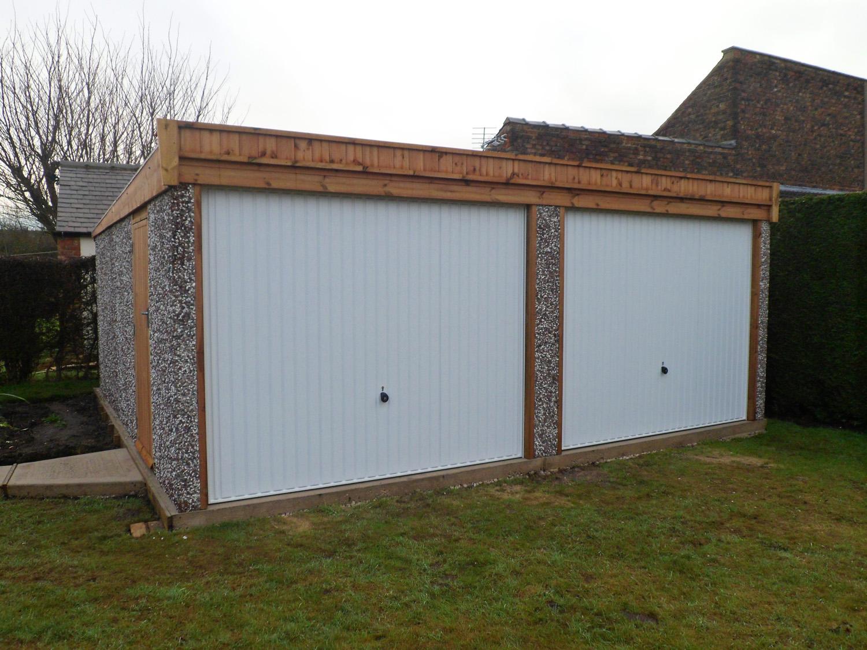 Double Pent Garage