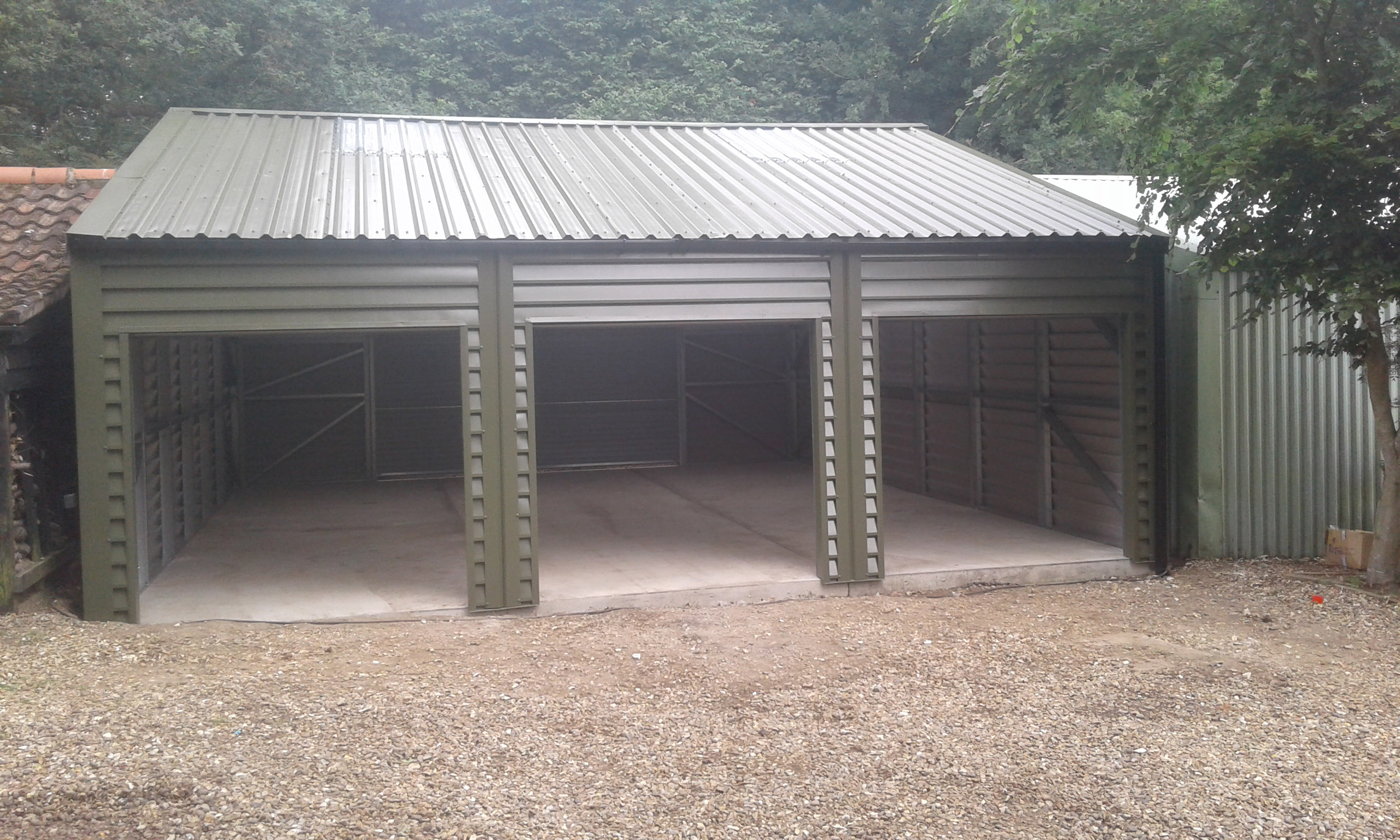 Fully Insulated Triple Garage