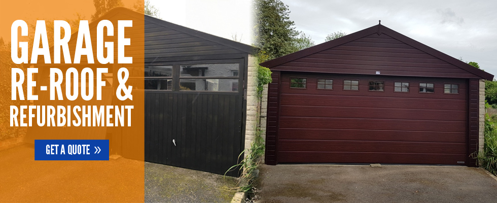 garage re-roof refurbishment