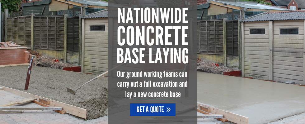 nationwide concrete base laying