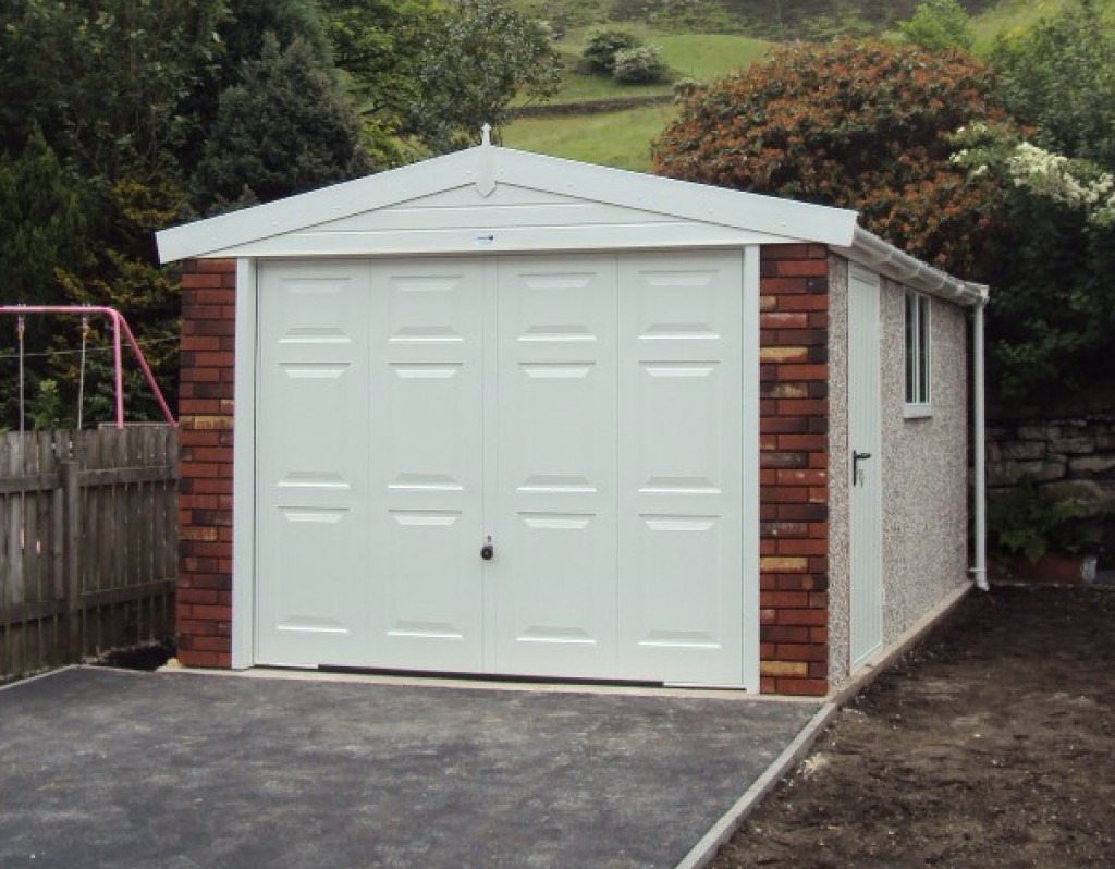 Affordable prefabricated garages white rose buildings ltd