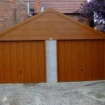 High pitch apex garage