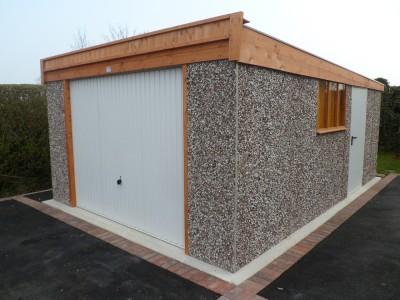 Standard Pent Garage