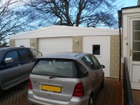 bespoke double garage