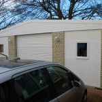 bespoke double garage