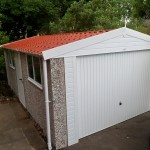 Apex PVC garage with Tiled Roof