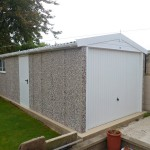 Apex PVC Single Garage
