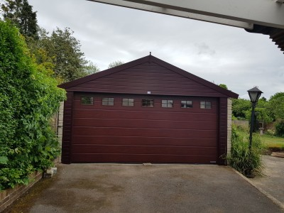 Garage Refurbishment - After