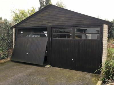 Garage Refurbishment Before