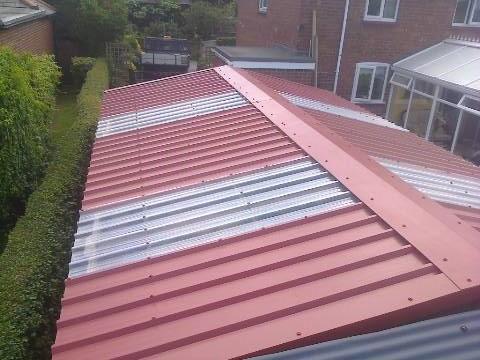 Refurbishment Of Grimston Sectional Concrete Garage