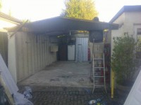 Recent Garage Re-roof and Revamp