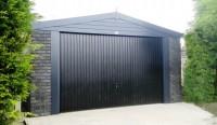 Graphite Concrete Garage