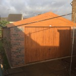 Brick Effect Concrete Garage