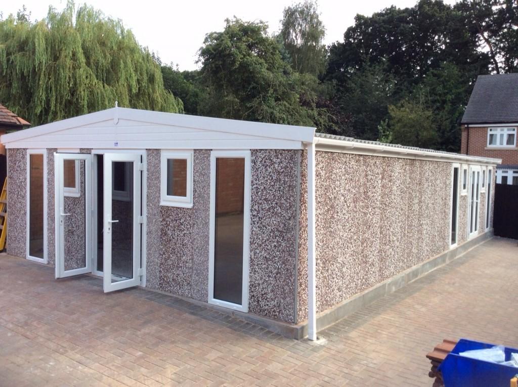 Affordable Prefabricated Garages | White Rose Buildings Ltd