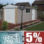April Price Freeze & 5% OFF