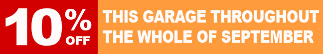 10 Percent Off This Garage