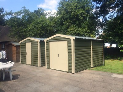 Steel Garages, Sheds & Workshops