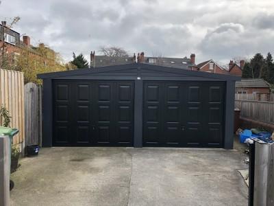Garage Refurbishment - After