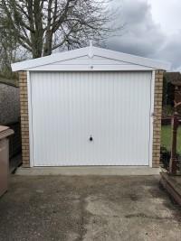 Garage Removal & New Apex Garage