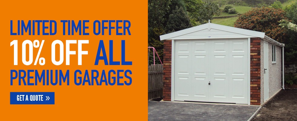 Limited Time Offer on Premium Garages