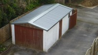 Garage roof replacement